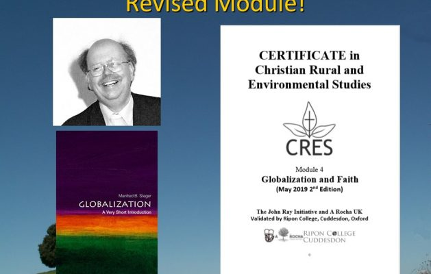 Revised CRES Module: Globalization and Faith